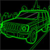 Awesome Neon Parking Icon