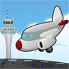 Airplane Runway Parking Icon