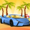 Paradise Beach Parking Icon