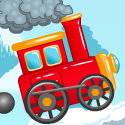 The Red Train Icon