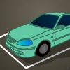 Town Car Parking Icon